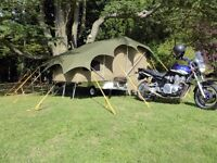 CAMPER TRAILER FOR MOTORBIKE, TRIKE, SIDECAR COMBO OR SMALL CAR - KING SIZE BED!!