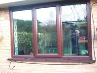 Triple Glazed 3 panel window with centre opening