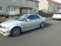 Bmw 318ci convertable 05 plate for sale great condition