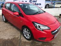 VAUXHALL CORSA 1.4 EXCITE AC ECOFLEX 5d 89 BHP A GREAT EXAMPLE INSIDE AND OUT (red) 2015