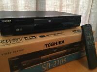 TOSHIBA SD-2109 DTS DVD PLAYER