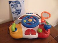 Chicco Talking Driver - Bilingual toy - teaches your child in English and in French
