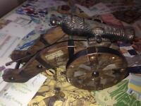 Vintage Spanish Agustina de Aragon Siglo XIX Cannon. £60 on eBay