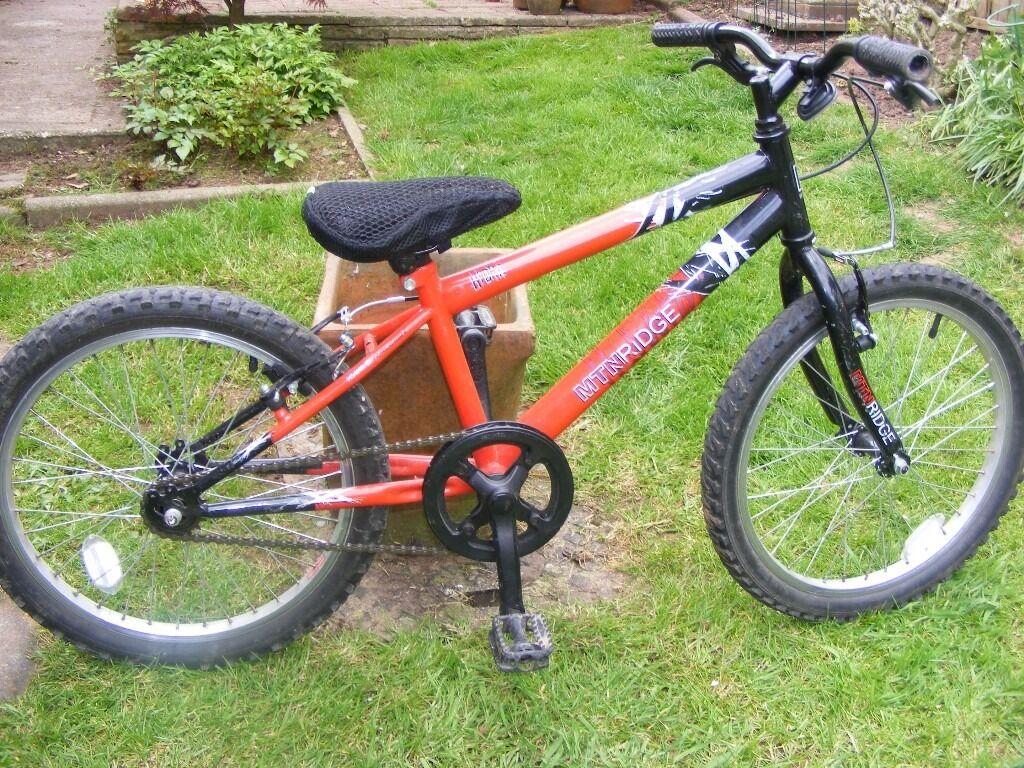 Kids Small Raleigh Mtn Ridge Mountain Bike In Taunton Somerset