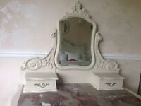 French Shabby Chic dressing Table c1900