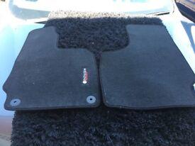 Front car mats