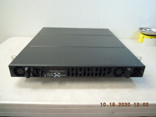 ISR4431-AX/K9 Cisco ISR4431 Router + APPXK9 & IPBASEK9 Licenses & Dual AC P/S