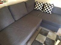 IKEA Sofa-bed with Storage Grey FRIHETEN