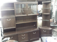 3PIECE G-PLAN LIVING/DINING ROOM 2 SIDEBAR CABINETS + CORNER UNIT --->>> CHECK PHOTOS FOR 3RD PIECE