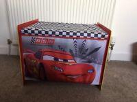 Kids Disney cars toy box
