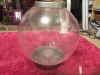 Large Bio Orb Fish Tank with accessories for sale