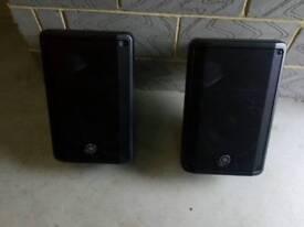 Yamaha DBR10 powered speakers (pair)