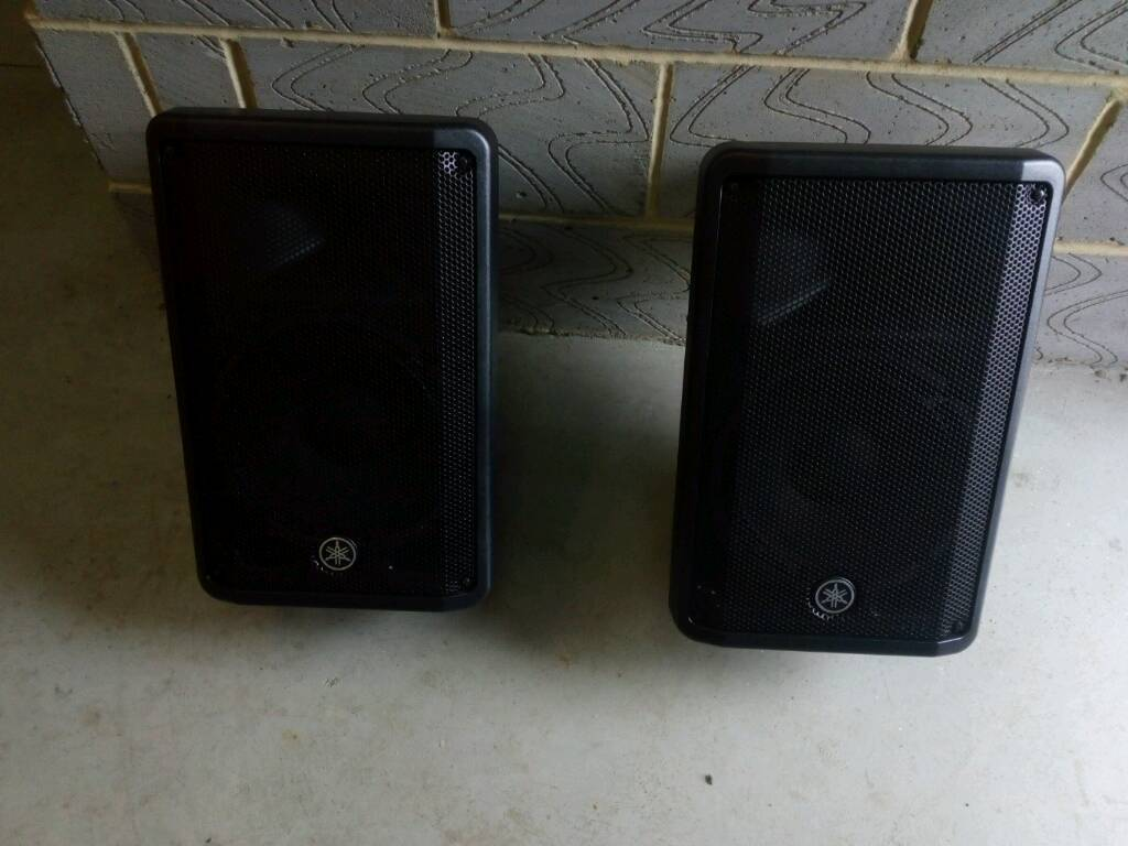 Yamaha DBR10 powered speakers (pair) | in Portsmouth, Hampshire | Gumtree