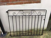 Wrought Iron Garden Gate & Driveway Gates