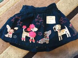 TU Baby Girls skirt 9-12 months £2.50