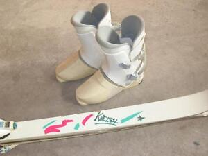 Kneissl Ski Bundle (skis, bindings, boots)