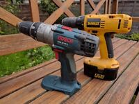 Electric cordless drills