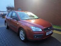 2007 FORD FOCUS SPORT,1.8TDCI,MANUAL,MOT MAY 2017TH