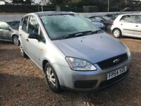 04 Ford Focus C-Max LX MPV 1.6 Petrol 82,000 Miles 1 Owner 12 MONTHS MOT UPON PURCHASE cheap car