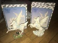 Brand new set of Pegasus ornaments with box