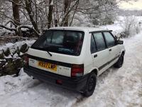 Subaru Justy GL 4WD 5-speed 1992 5-door