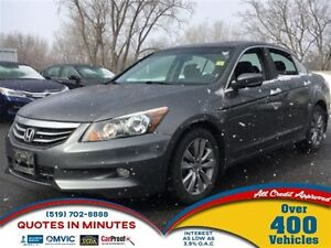 2011 Honda Accord EX-L | V6 | LEATHER | ROOF | HEATED SEATS
