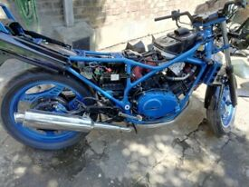 project bike honda vf400fd 1983