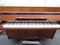 small upright piano by geyer