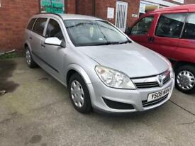 2008 VAUXHALL ASTRA 1.3CDTI 16V LIFE ESTATE-SPARES OR REPAIRS-NOVEMBER 2018 MOT TEST-