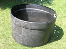Large Circular Container For rainwater Collection or Plant