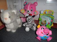 10 pcs baby girl toys