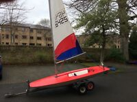Racing Topper Sailing Dinghy Good Condition