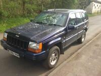 JEEP GRAND CHEROKEE LTD 4.0 4X4 AUTOMATIC LONG MOT £700