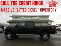 2011 Ford F-350 Lariat Diesel 6 Lift'' WE FINANCE EVERYONE''