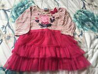 Baby Girls Peppa Pig Dress 9-12 Months