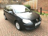 05 REG VOLKSWAGEN POLO 1.4 TDI DIESEL NEW SHAPE GREY DRIVES SUPERB NOT ASTRA FOCUS CORSA GOLF FIESTA