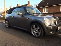 Mini coopers s convertible supercharged