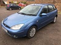 2002 Ford Focus ghia long mot very nice drive , leather interior