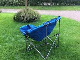 Camping moon chair unused