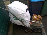Billy Goat KD50 5hp Petrol Wheeled Leaf / Litter Vacuum