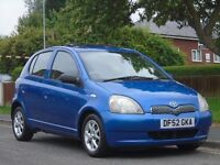Toyota Yaris 1.3 VVT-i 16v CDX 5dr£1,199 p/x welcome 1 OWNER,FULL MOT,EXCELLENT CON