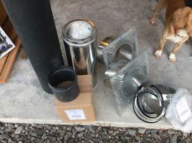 Collection of original Stovax flue accessories
