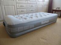 Bestway Premium Single Air Bed with built in electric pump