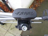 Farad roof bars for Vauxhall Zafira 2011