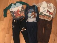 Gruffalo Zog Highway Rat clothes age 3-4
