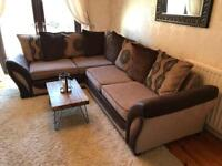 CORNER SOFA WITH INTEGRATED SOFA BED