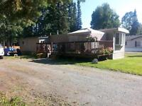 mobile on 1/4 acre forsale on hart