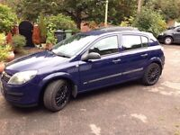 Vauxhall Astra, 1.4 dual fuel (LPG currently not working)