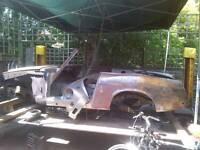 Datsun fairlady roadster sp311 lhd project 1969