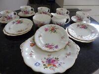 Royal Crown Derby Tea Set, Posies pattern, excellent condition